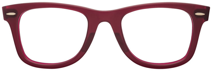 PRESCRIPTION-GLASSES-RAYBAN-RB2140-BURGUNDY-FRONT