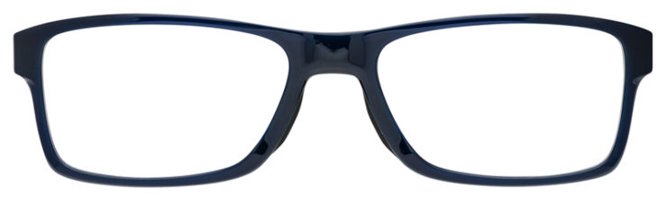 prescription-glasses-Oakley-Chamfer-MNP-Clear-Navy-FRONT