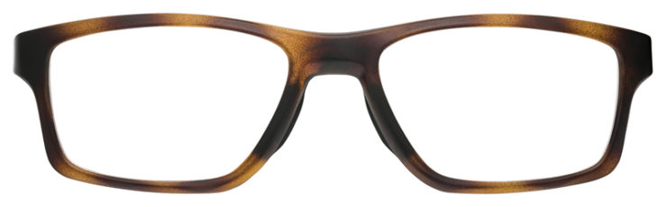 prescription-glasses-Oakley-Crosslink-Brown-Tortoise-FRONT