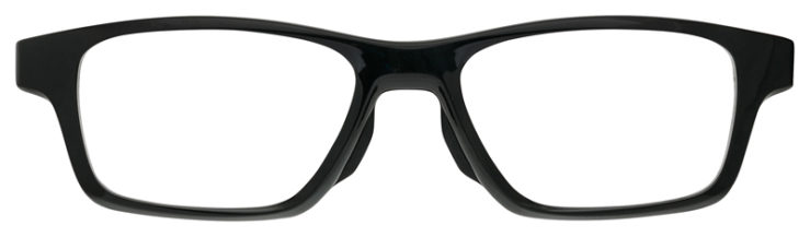 prescription-glasses-Oakley-Crosslink-Polished-Black-FRONT