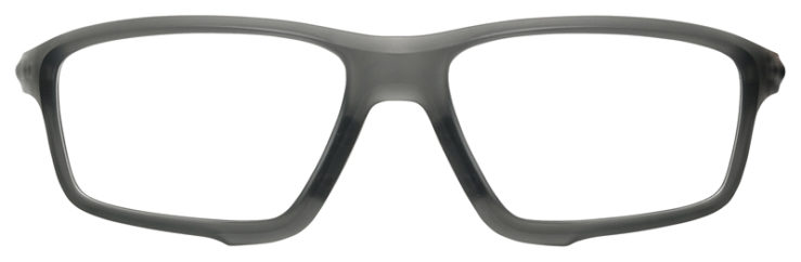 prescription-glasses-Oakley-Crosslink-zero-Satin-Grey-Smoke-FRONT