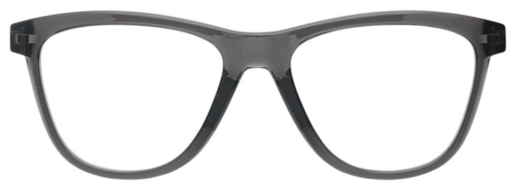 prescription-glasses-Oakley-Grounded-Grey-smoke-FRONT