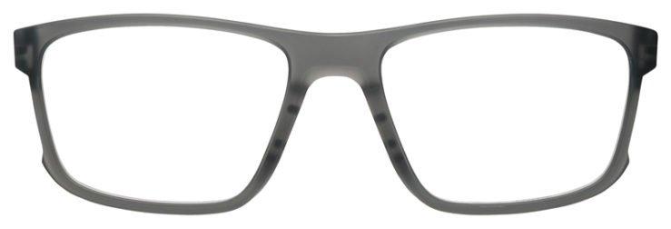 prescription-glasses-Oakley-HyperLink-Satin-Grey-smoke-FRONT
