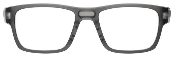 prescription-glasses-Oakley-Splinter-Satin-Grey-smoke-FRONT