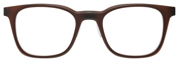 prescription-glasses-Oakley-Steel-Line-R-Matte-Dark-Amber-FRONT