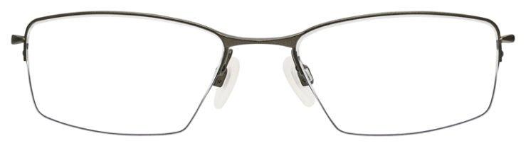 prescription-glasses-Oakley-lizard-Titanium-pewter-FRONT