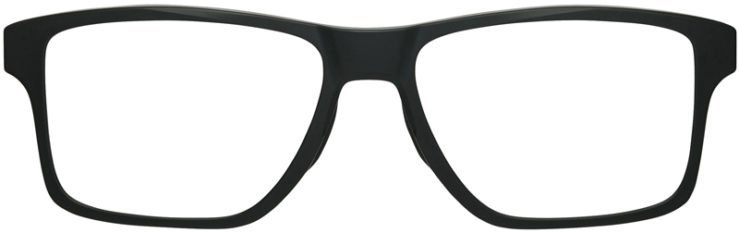 prescription-glassesOakley-Chamfer-Squared-Satin-Black-FRONT