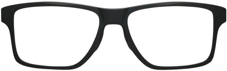 prescription-glassesOakley-Chamfer-Squared-Satin-Black-FRONT