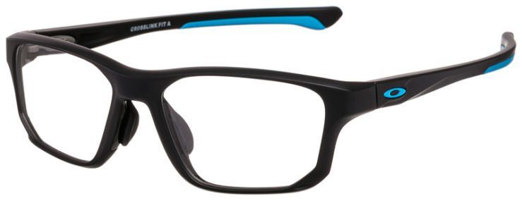 prescription-glassesOakley-Crosslink-Fit-(A)-Satin-Black-Blue-45