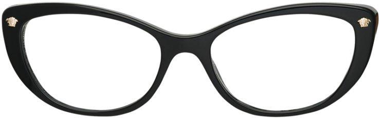 prescription-glassesVersace-MOD.3258-GB1-FRONT