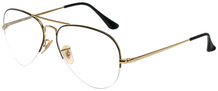 prescription-glasses-Ray-Ban-RB6589-Black-Gold-45