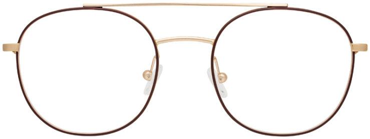 prescription-glasses-Calvin-Klein-CK18123-satin-brown-FRONT