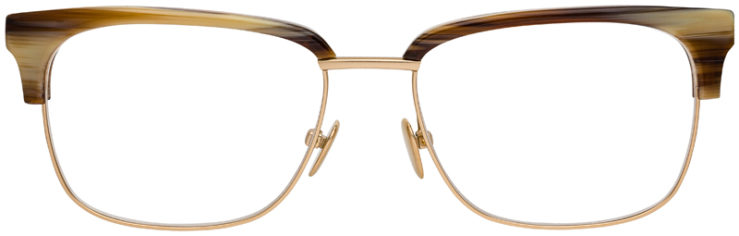 prescription-glasses-Calvin-Klein-CK18124-amber-horn-FRONT