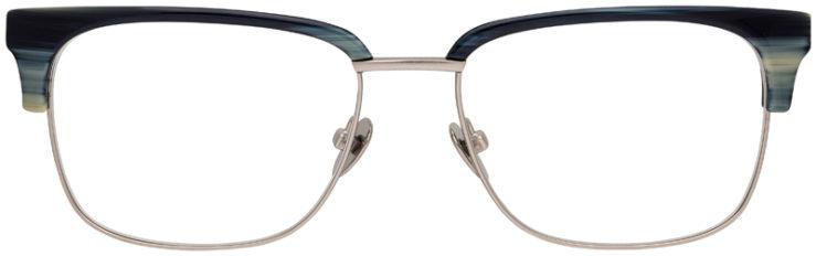 prescription-glasses-Calvin-Klein-CK18124-slate-blue-horn-FRONT