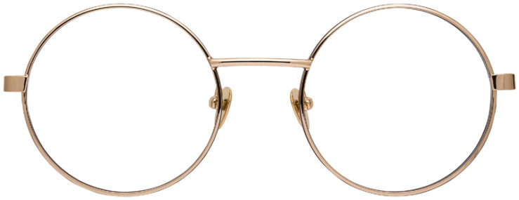 prescription-glasses-Calvin-Klein-CK19114-gold-FRONT