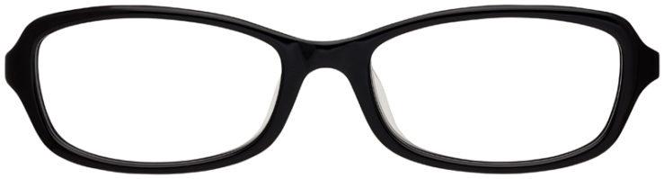 prescription-glasses-Calvin-Klein-CK5907A-black-FRONT