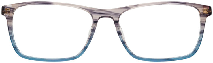 prescription-glasses-Calvin-Klein-CK6009-striped-blue-grey-FRONT