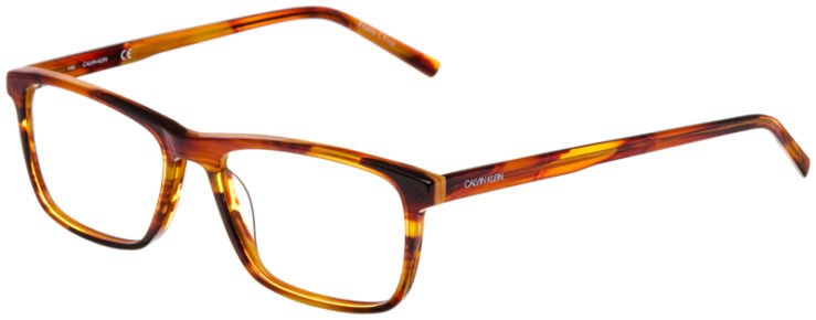 prescription-glasses-Calvin-Klein-CK6009-striped-brown-45