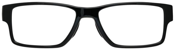 prescription-glasses-Oakley-Airdrop-MNP-polished-Black-FRONT