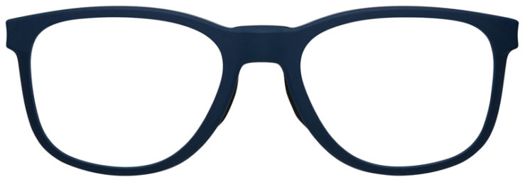 prescription-glasses-Oakley-Cloverleaf-MNP-Satin-Universe-Blue-FRONT
