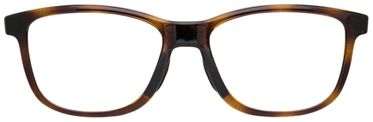 prescription-glasses-Oakley-Cross-Step-Brown-Tortoise-FRONT