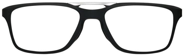 prescription-glasses-Oakley-Gauge-7.2-Arch-Satin-Black-FRONT