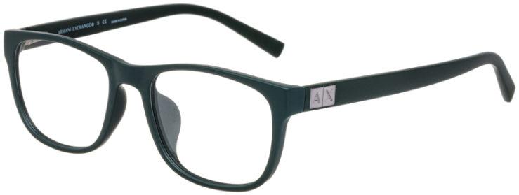 prescription-glasses-model-Armani-Exchange-AX3034F-Matte-Green-45