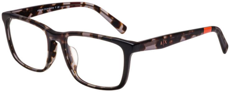 prescription-glasses-model-Armani-Exchange-AX3052F-8252-45