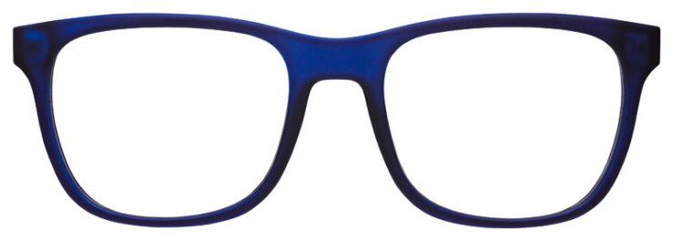 prescription-glasses-model-Armani-Exchange-AX3056-Blue-FRONT