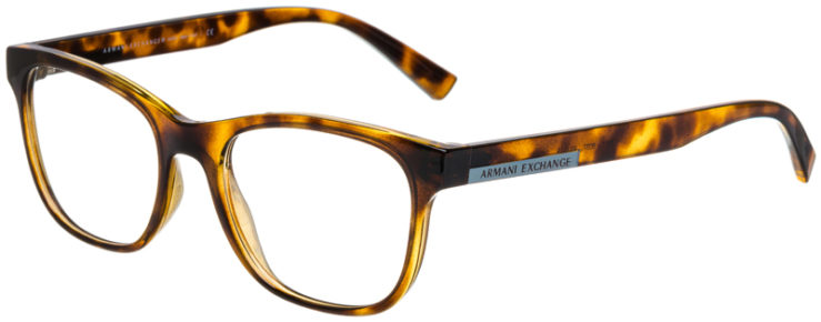 prescription-glasses-model-Armani-Exchange-AX3057-Tortoise-45