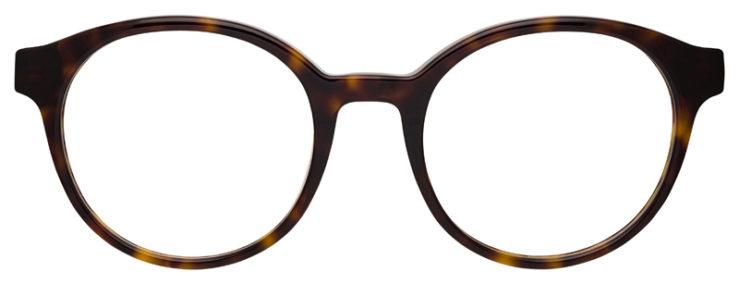 prescription-glasses-model-Emporio-Armani-EA3144-Tortoise-FRONT