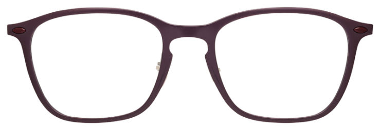 prescription-glasses-model-Ray-Ban-RB8955-Purple-FRONT