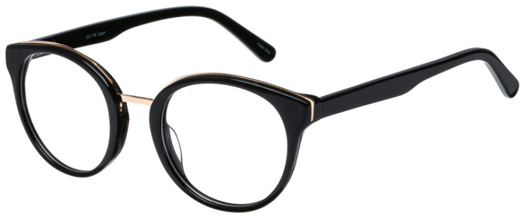 prescription-glasses-model-CAPRI-DC178-Black-Gold-45