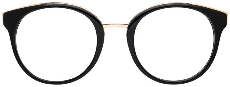 prescription-glasses-model-CAPRI-DC178-Black-Gold-FRONT