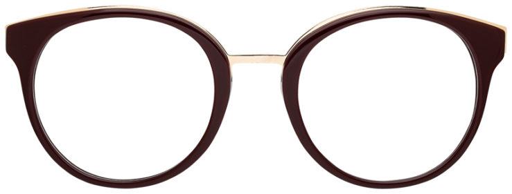 prescription-glasses-model-CAPRI-DC178-Burgundy-Gold-FRONT