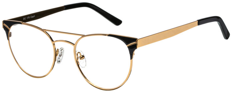 prescription-glasses-model-CAPRI-DC179-Gold-Black-45