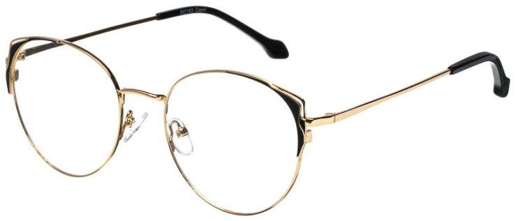 prescription-glasses-model-CAPRI-DC183-Gold-Black-45