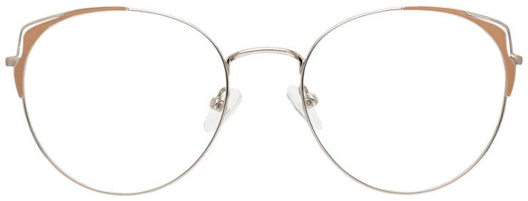 prescription-glasses-model-CAPRI-DC183-Silver-Tan-FRONT