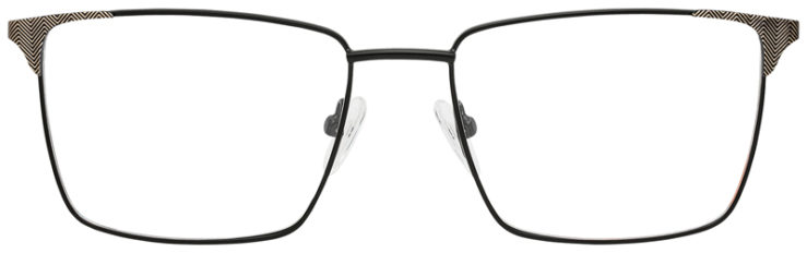 prescription-glasses-model-CAPRI-DC185-Black-Gold-FRONT