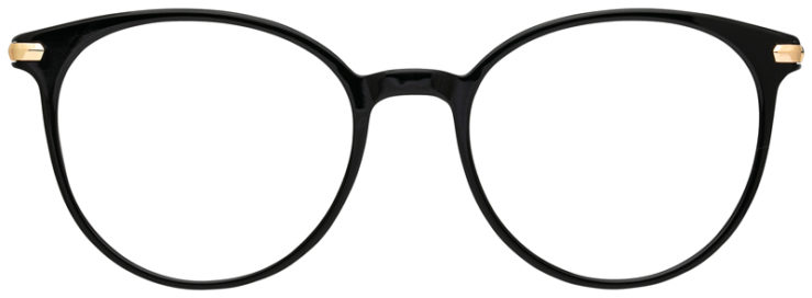 prescription-glasses-model-CAPRI-DC186-Black-Gold-FRONT