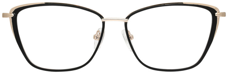 prescription-glasses-model-CAPRI-DC187-Black-Gold-FRONT