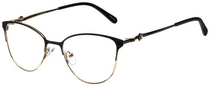 prescription-glasses-model-CAPRI-DC194-Black-Gold-45
