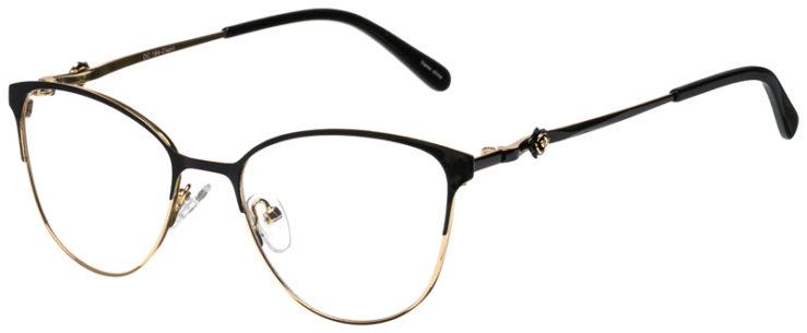 prescription-glasses-model-CAPRI-DC194-Black-Gold-45