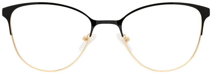 prescription-glasses-model-CAPRI-DC194-Black-Gold-FRONT