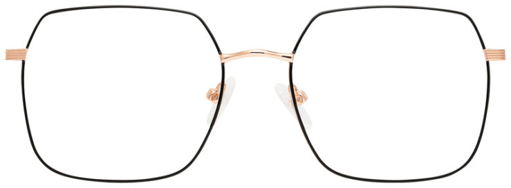 prescription-glasses-model-CAPRI-DC196-Black-Gold-FRONT