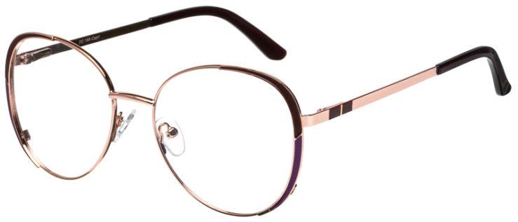 prescription-glasses-model-CAPRI-DC198-Burgundy-Gold-45