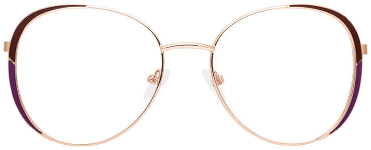 prescription-glasses-model-CAPRI-DC198-Burgundy-Gold-FRONT