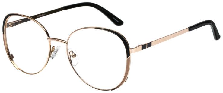 prescription-glasses-model-CAPRI-DC198-Gold-Black-45
