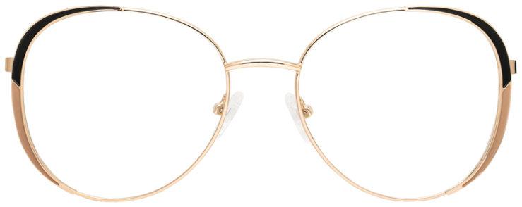 prescription-glasses-model-CAPRI-DC198-Gold-Black-FRONT