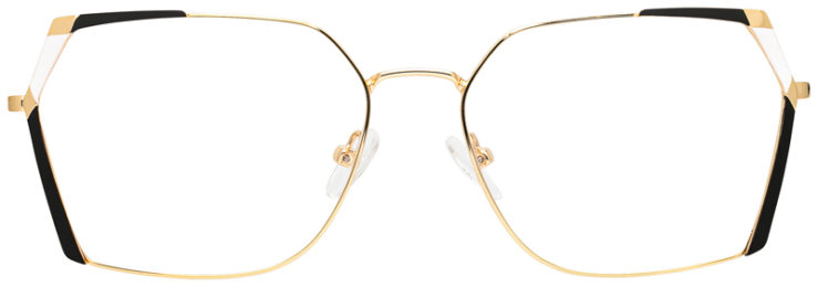 prescription-glasses-model-CAPRI-DC334-Gold-Black-FRONT